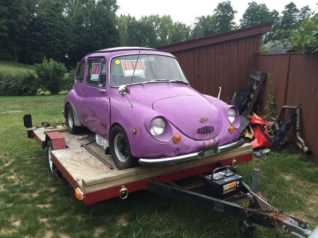 1969 Subaru 360 deluxe Micro car Restoration Project for sale
