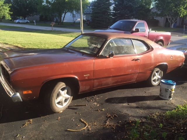 1971 plymouth duster project for sale. Black Bedroom Furniture Sets. Home Design Ideas