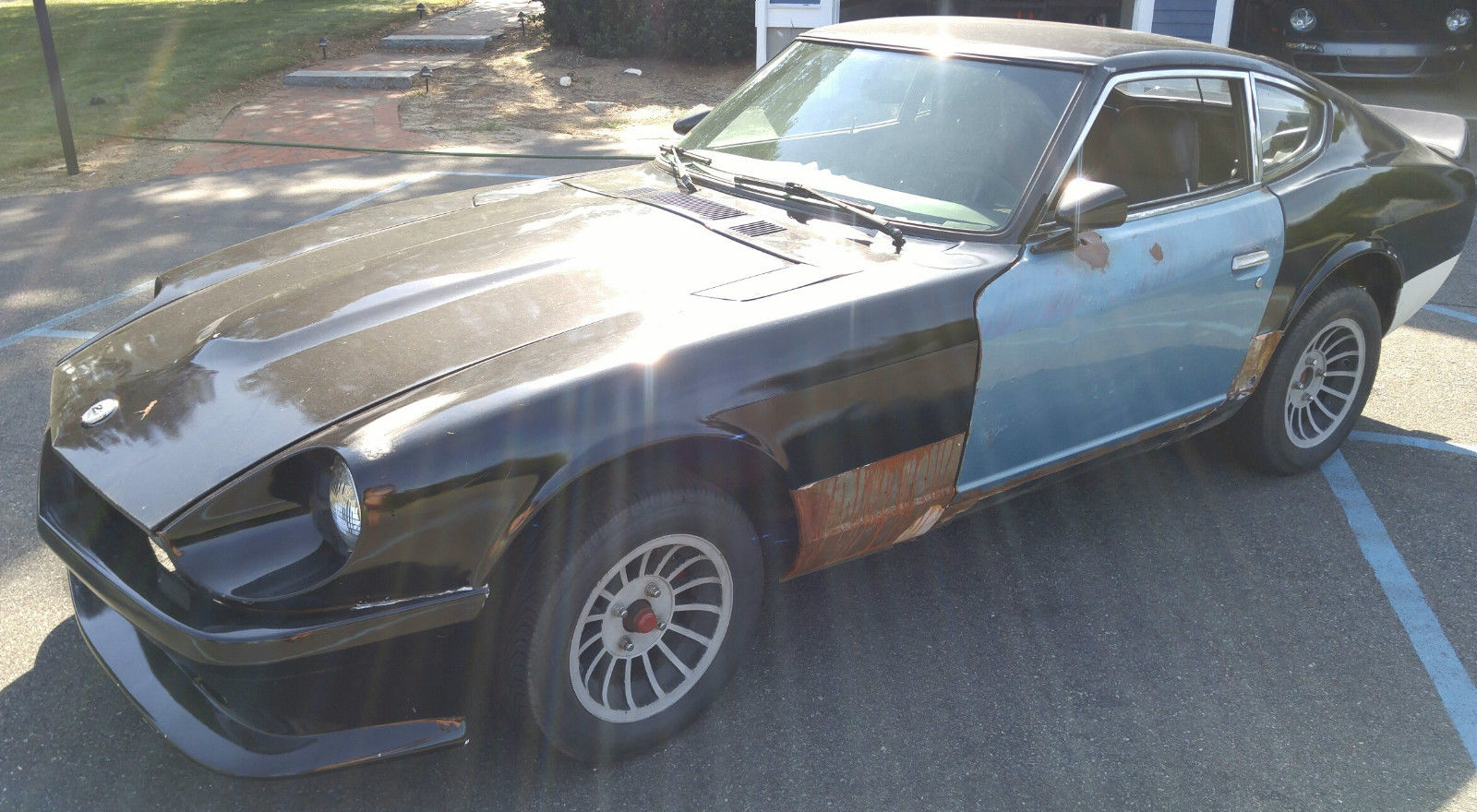 1978 datsun 280z project for sale. Black Bedroom Furniture Sets. Home Design Ideas