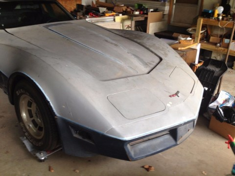 1980 Chevrolet Corvette Project Car for sale