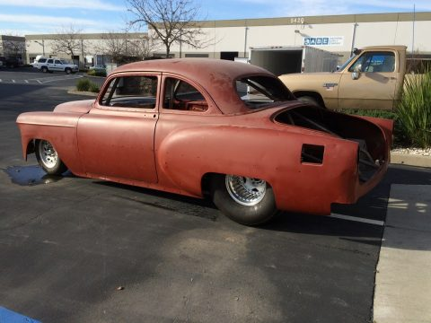1953 Pro Street Chevy Bel Air Rolling Project for sale