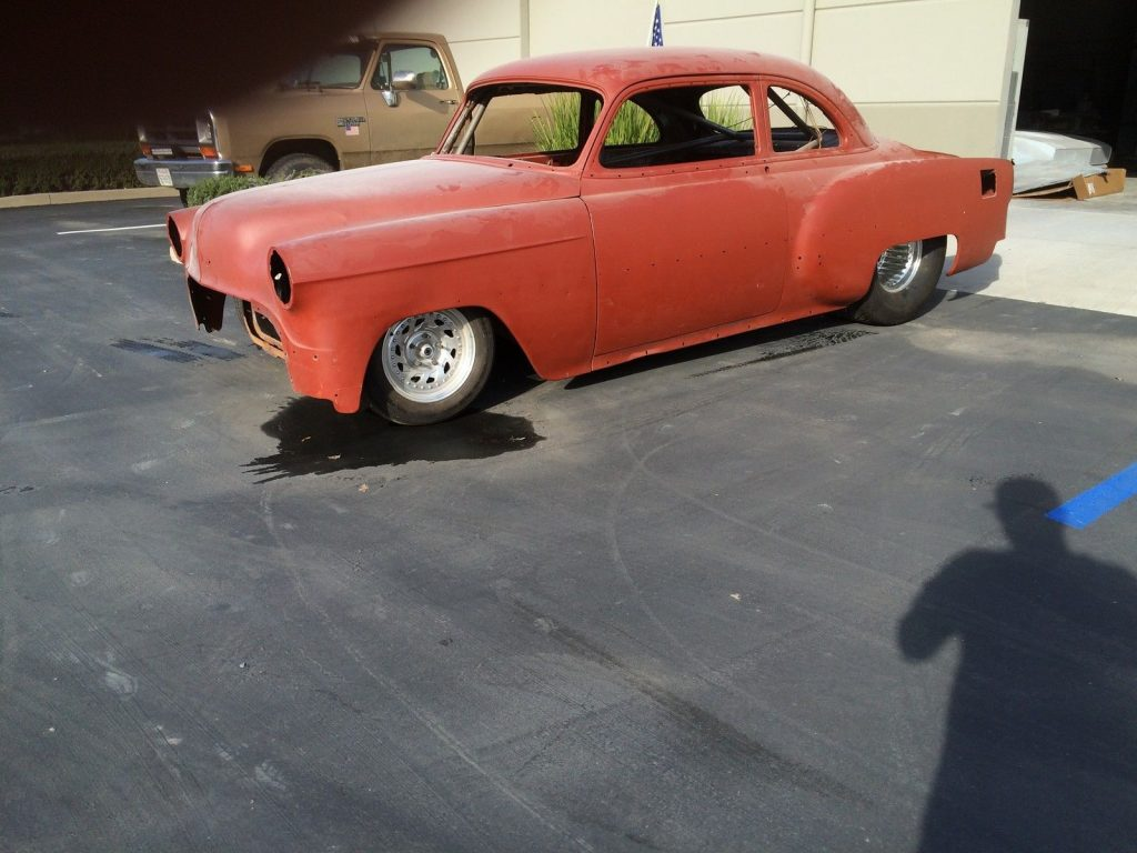 1953 Pro Street Chevy Bel Air Rolling Project