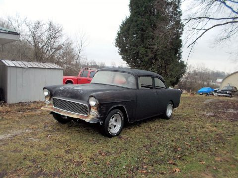 1955 Chevy 2dr Oldschool custom project car for sale