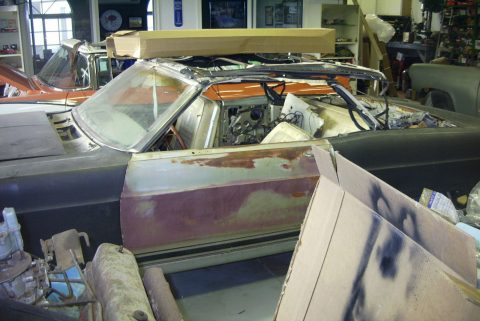 1966 Ford Fairlane GT Convertible (project car) for sale