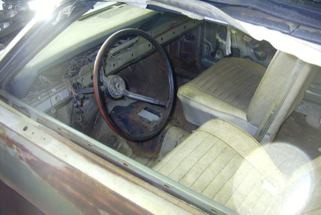 1966 Ford Fairlane GT Convertible (project car)
