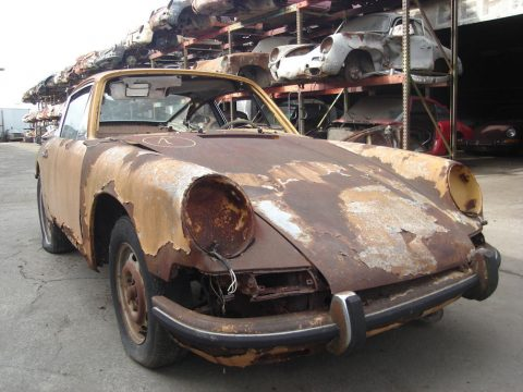 1966 Porsche 911 Coupe ready for full restoration for sale