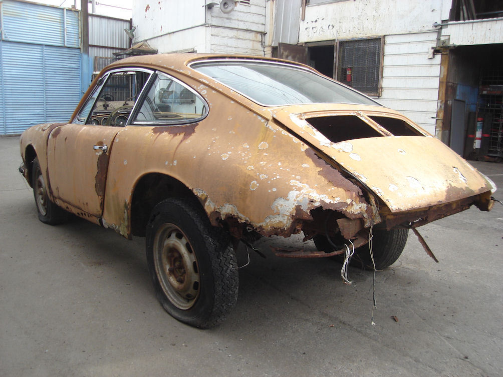 1966 Porsche 911 Coupe ready for full restoration