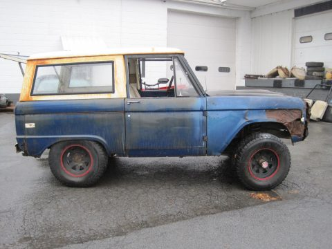 1968 Ford Bronco 289 Project for sale