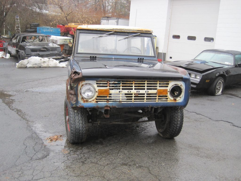 1968 Ford Bronco 289 Project