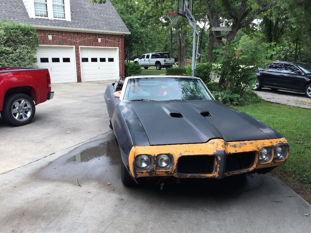 1970 pontiac gto clone convertible project car for sale for Motor cars for sale