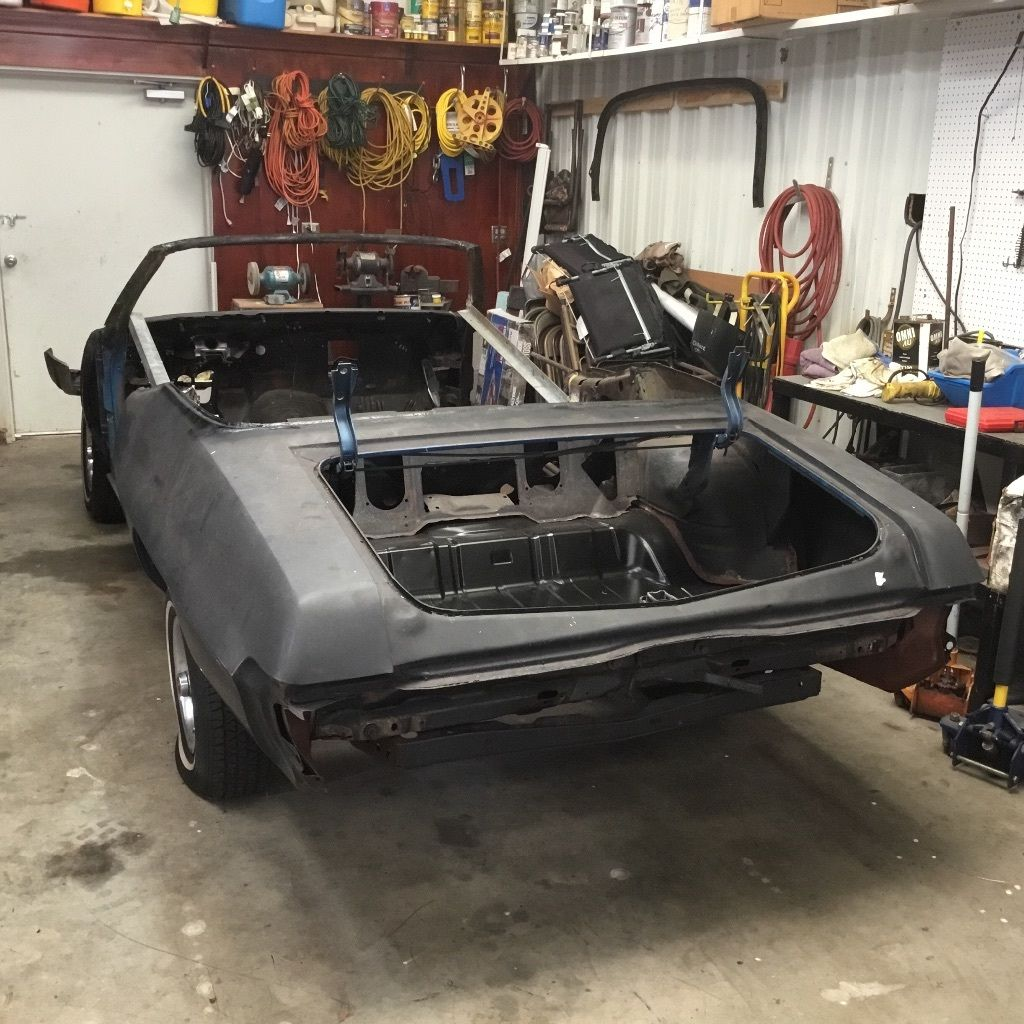 1970 Pontiac GTO Clone Convertible Project car