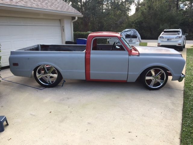 Chopped killer project 1969 Chevrolet C-10 Pickup truck