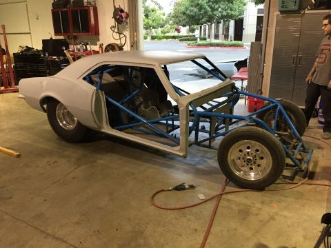 Drag Race Project 1968 Chevrolet Camaro Fiberglass Tube Chassis for sale