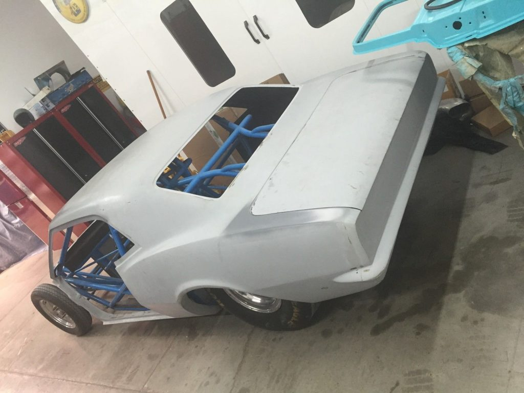Drag Race Project 1968 Chevrolet Camaro Fiberglass Tube Chassis