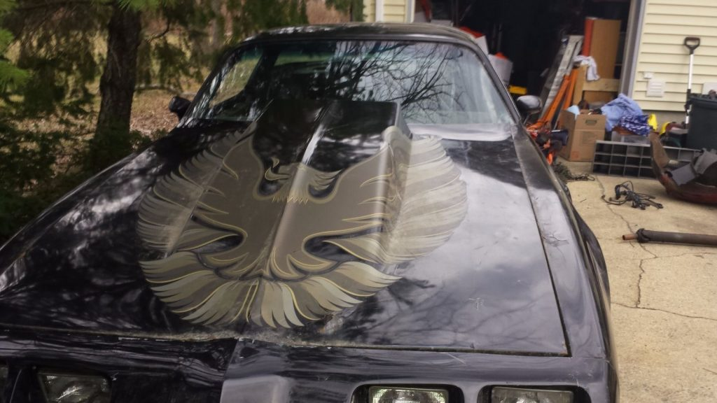 Project ready to be built: 1981 Pontiac Trans Am T-Tops car