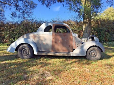 Roller Project: 1936 Ford 5 Window Coupe Street Rod for sale