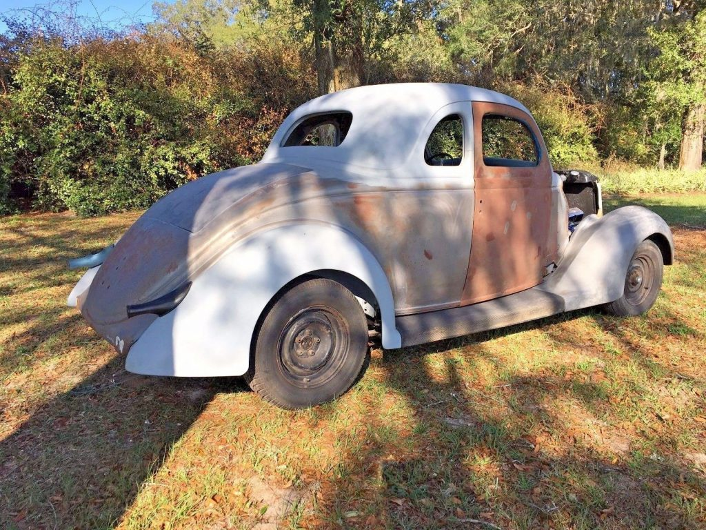 Roller Project: 1936 Ford 5 Window Coupe Street Rod