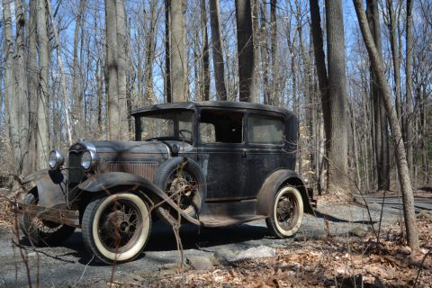 Barn find 1931 Ford Model A project been sitting for 60 years for sale