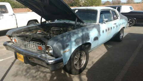 Classic coupe 1974 Chevrolet Nova project for sale