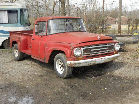 Complete barnfind 1967 International Harvester project truck for sale