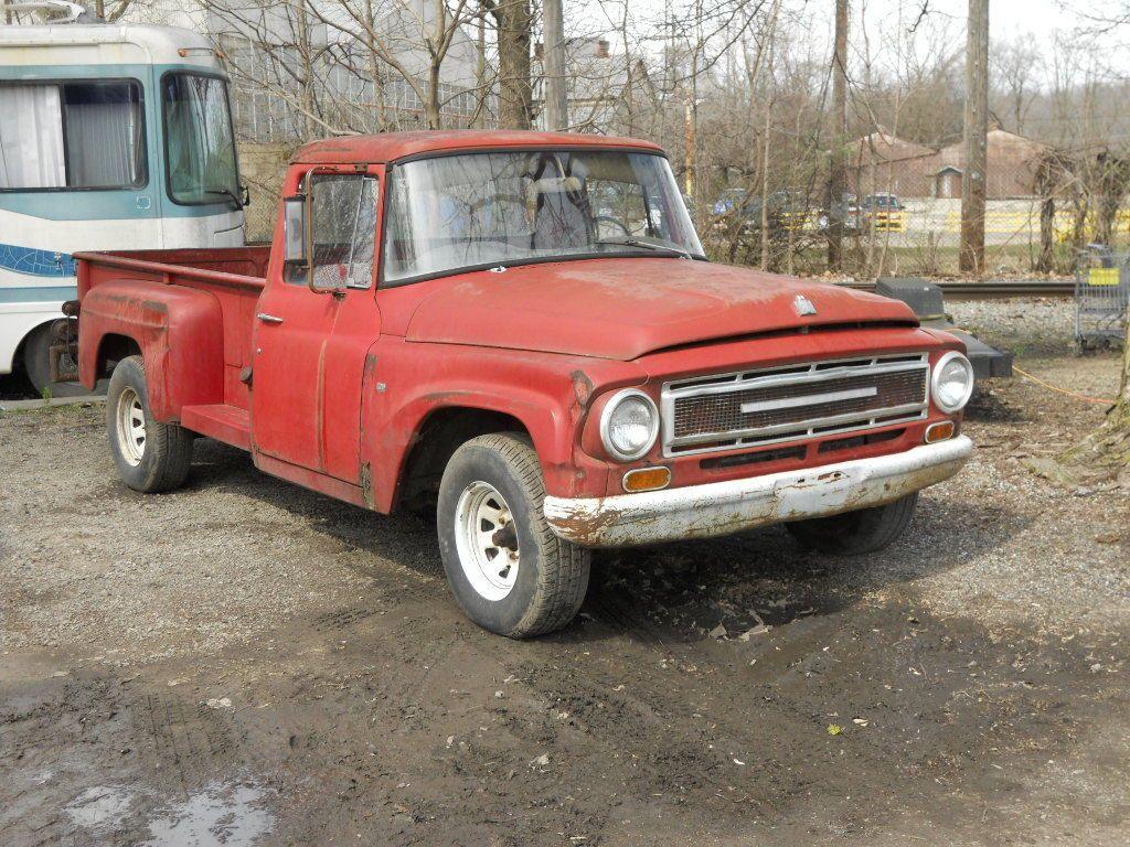 Trucks For Sale: Complete Barnfind 1967 International Harvester Project