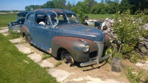 Complete project 1941 Ford Sedan on Chevy frame for sale
