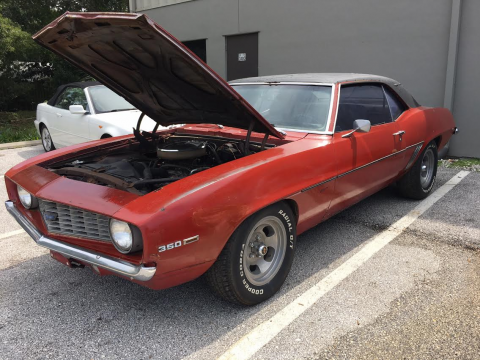 Easy project 1969 Chevrolet Camaro for sale