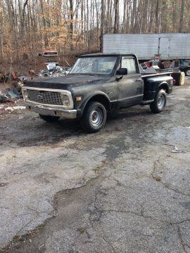 Incomplete 1972 Chevrolet C 10 project for sale