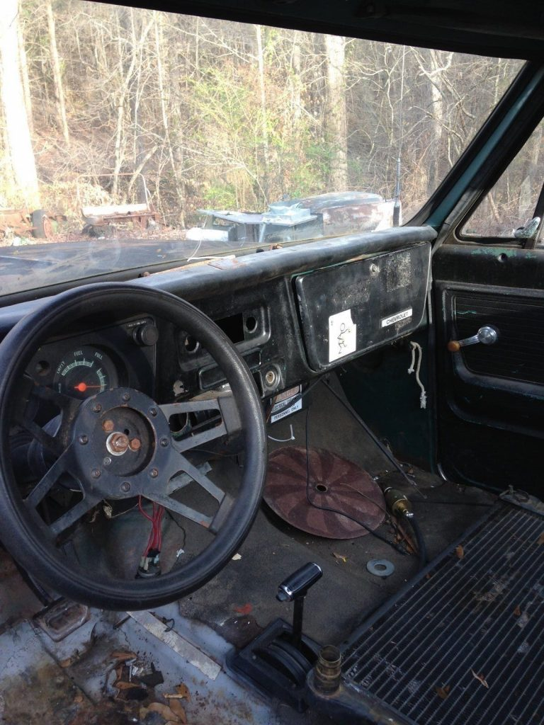 Incomplete 1972 Chevrolet C 10 project