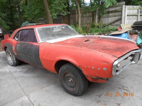 Matching numbers 1968 Pontiac Firebird project car for sale