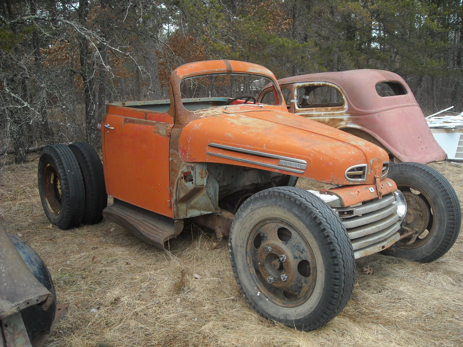 modified 1948 ford f 100 hot rat rod project for sale. Black Bedroom Furniture Sets. Home Design Ideas