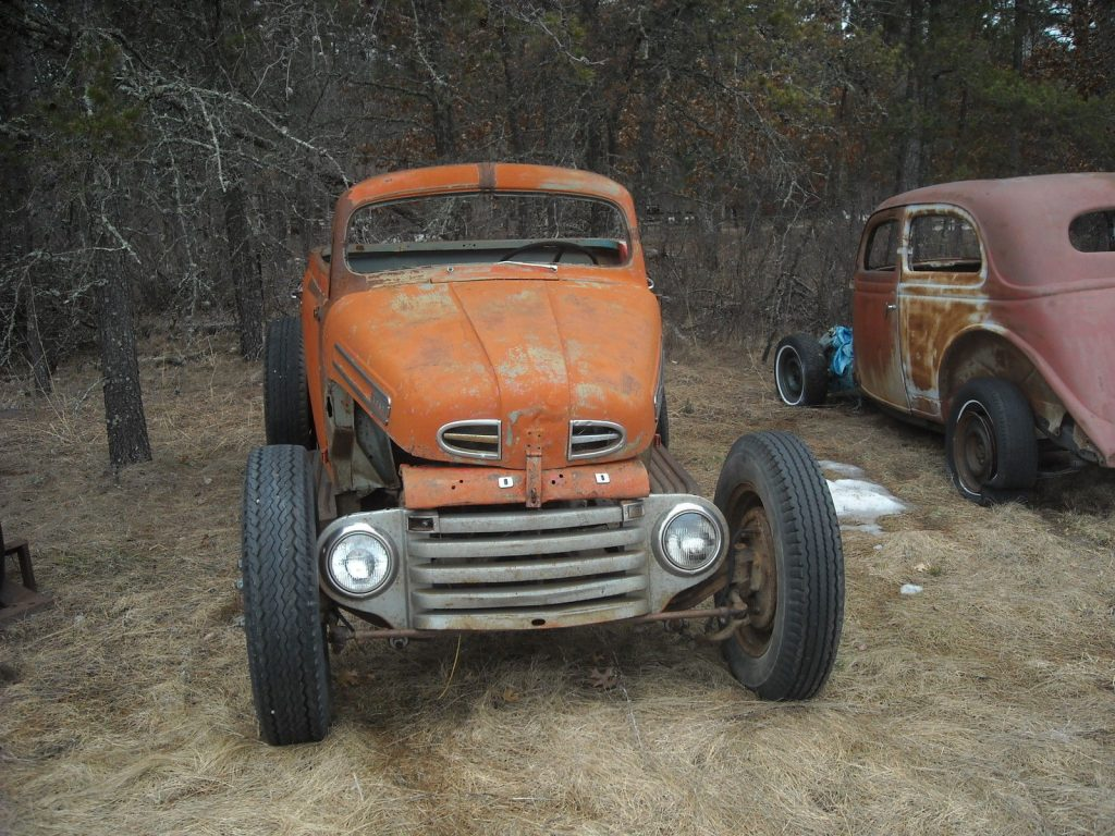Modified 1948 Ford F 100 hot rat rod project
