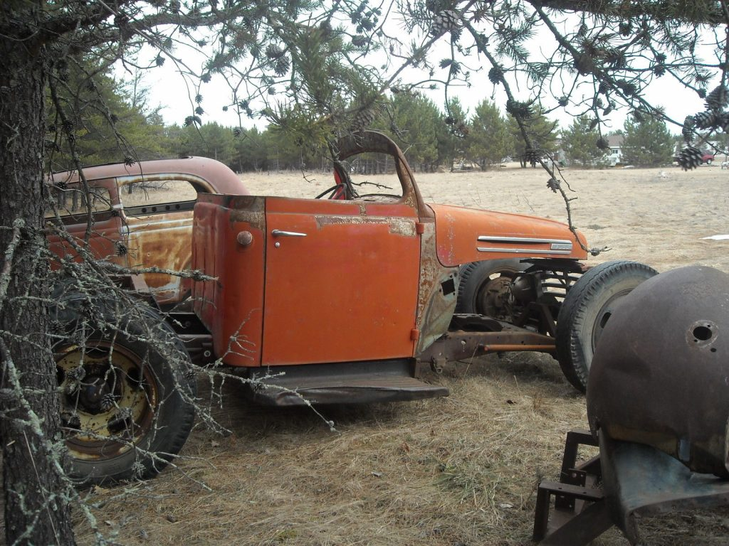 Modified 1948 Ford F 100 hot rat rod project for sale