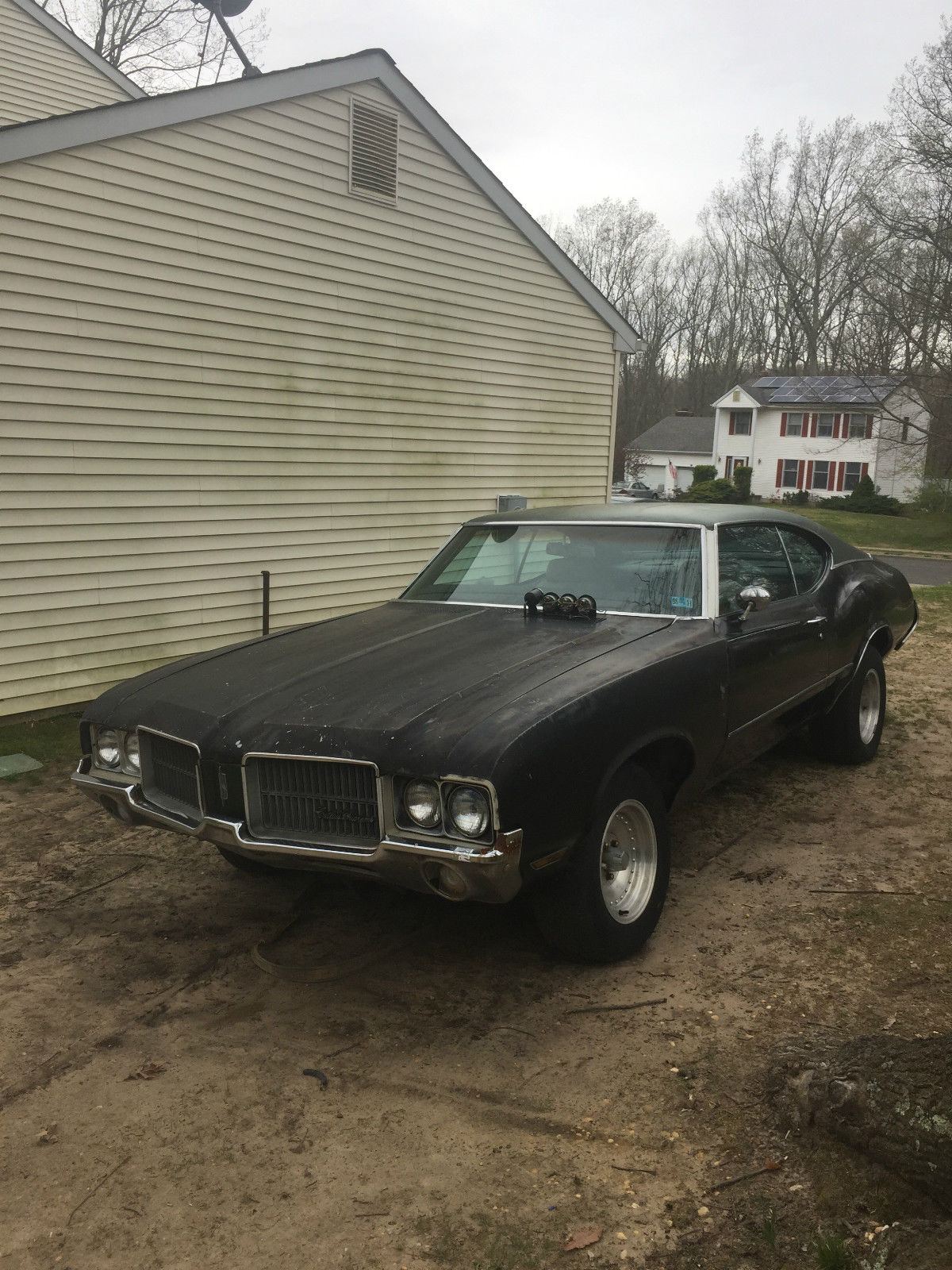 no engine and trans 1972 oldsmobile cutlass project for sale. Black Bedroom Furniture Sets. Home Design Ideas