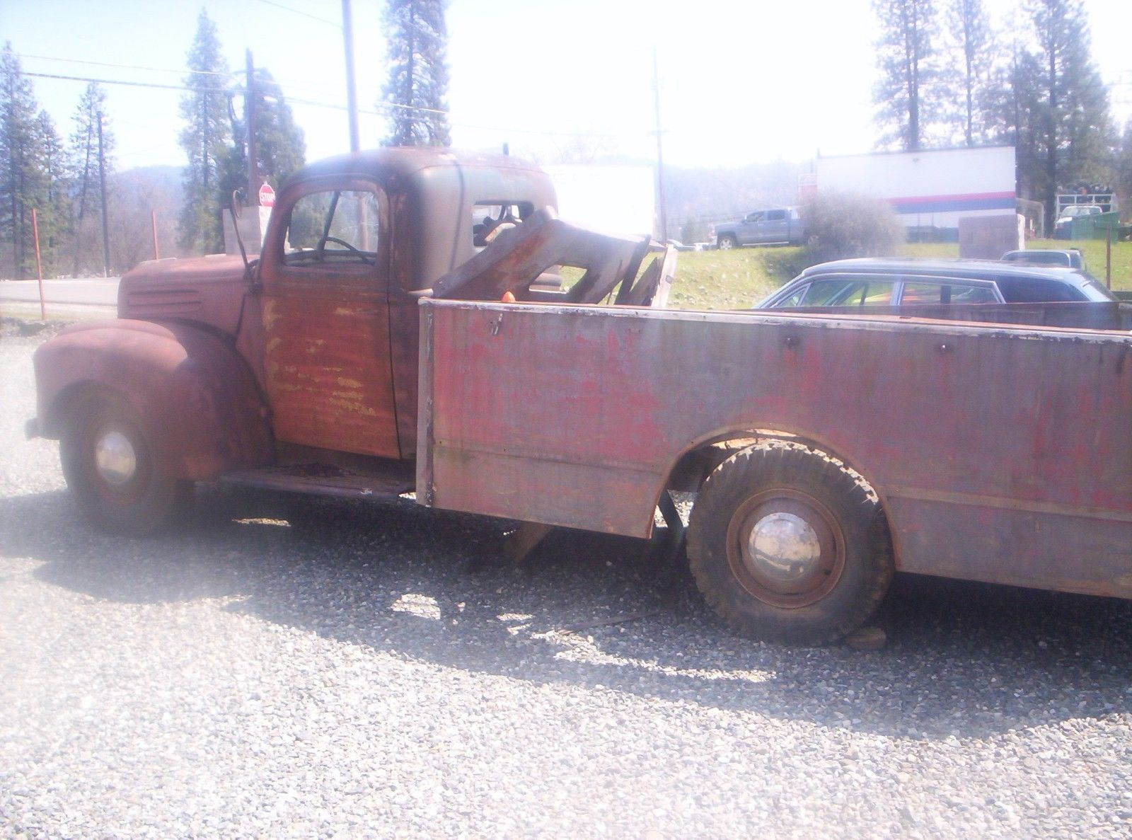 rare find 1937 ford project possibly fire truck for sale. Black Bedroom Furniture Sets. Home Design Ideas