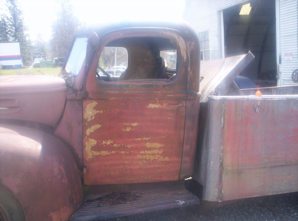 Rare find 1937 Ford project, possibly fire truck