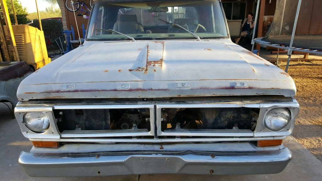 Rust free 1972 Ford F 100 project
