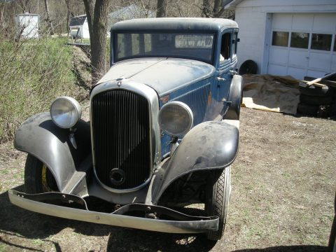 Suicide doors 1932 Plymouth Sedan project for sale