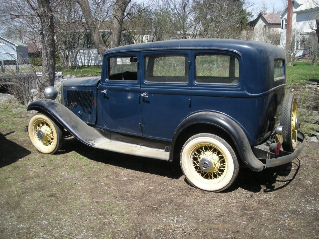 Suicide doors 1932 Plymouth Sedan project