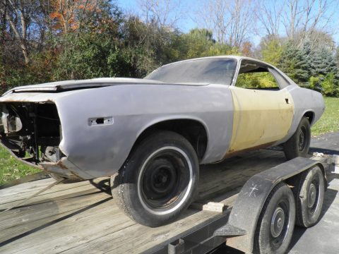 Total project 1974 Plymouth Barracuda solid base for sale