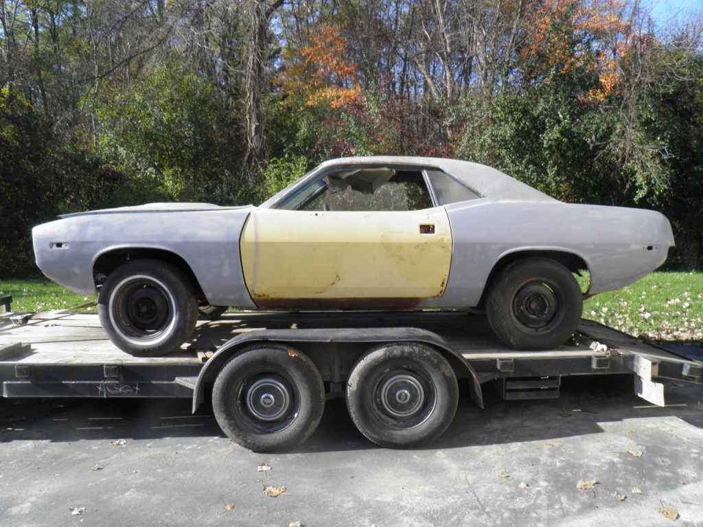 Total project 1974 Plymouth Barracuda solid base