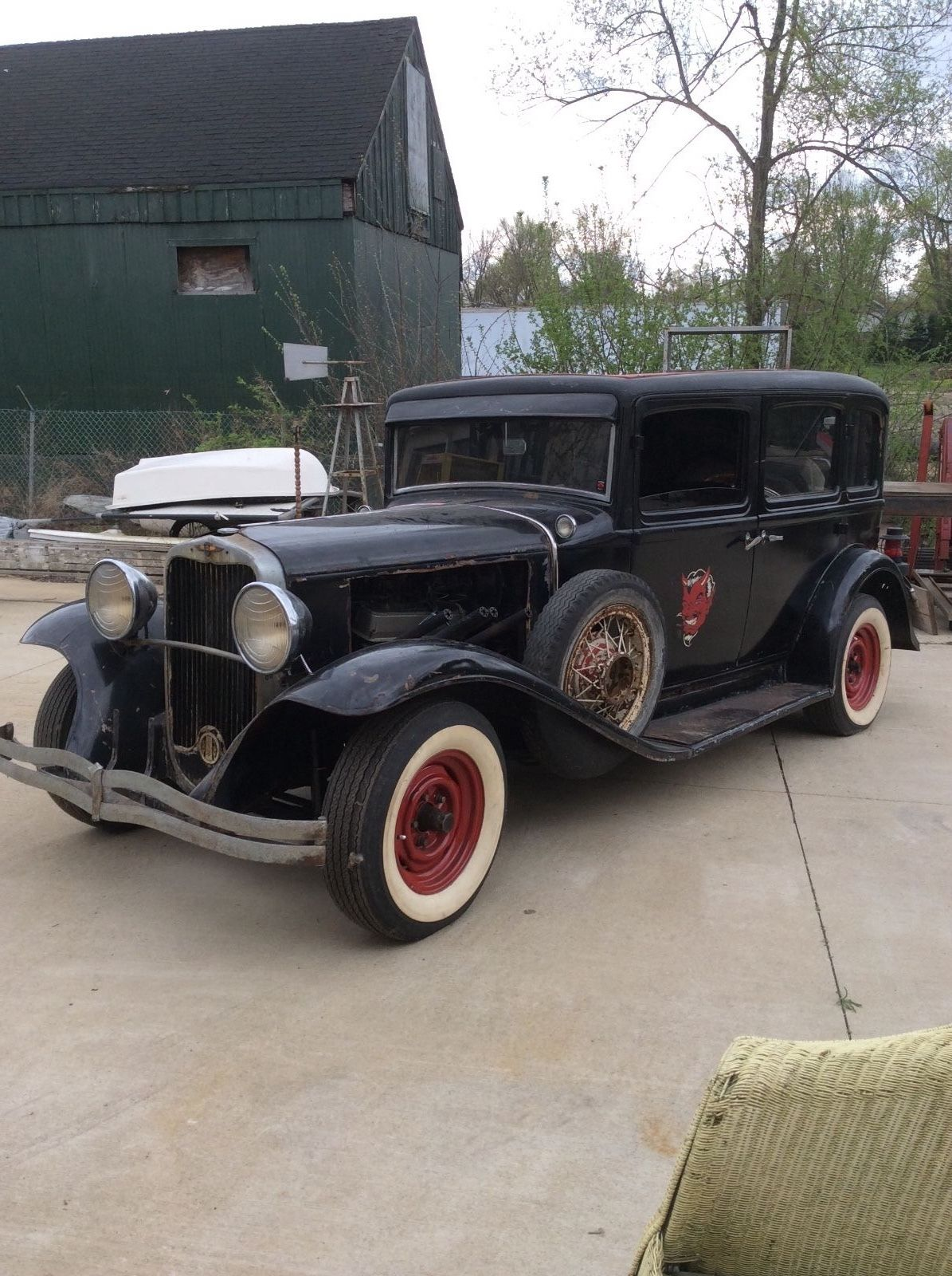 1931 Dodge DB8 project for sale