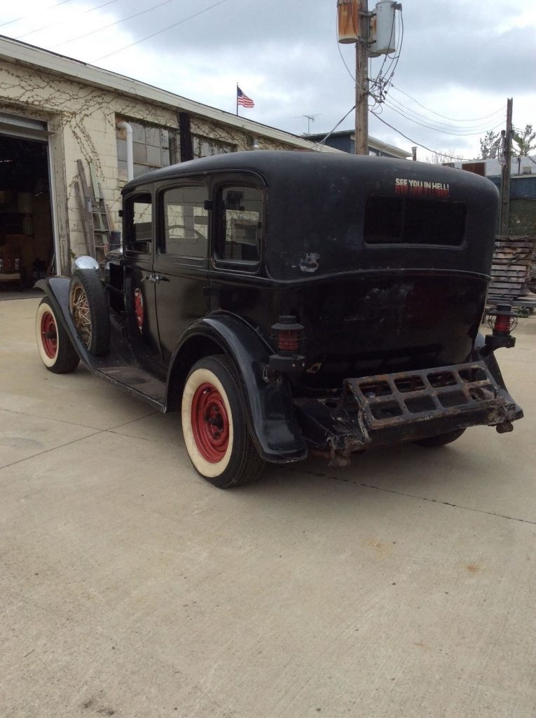 1931 Dodge DB8 project