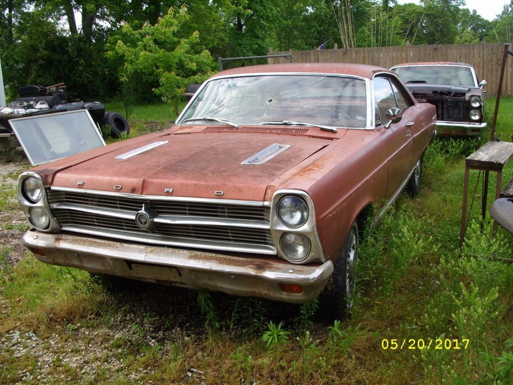 Barn find 1966 Ford Fairlane GTA project