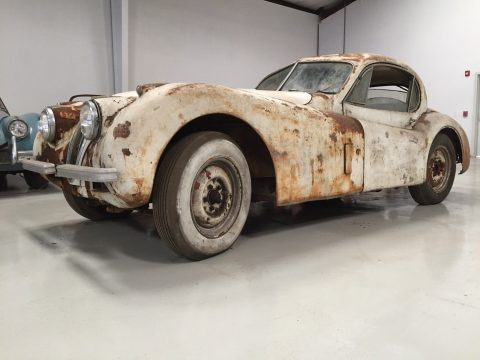 Classic british 1952 Jaguar XK restoration project for sale