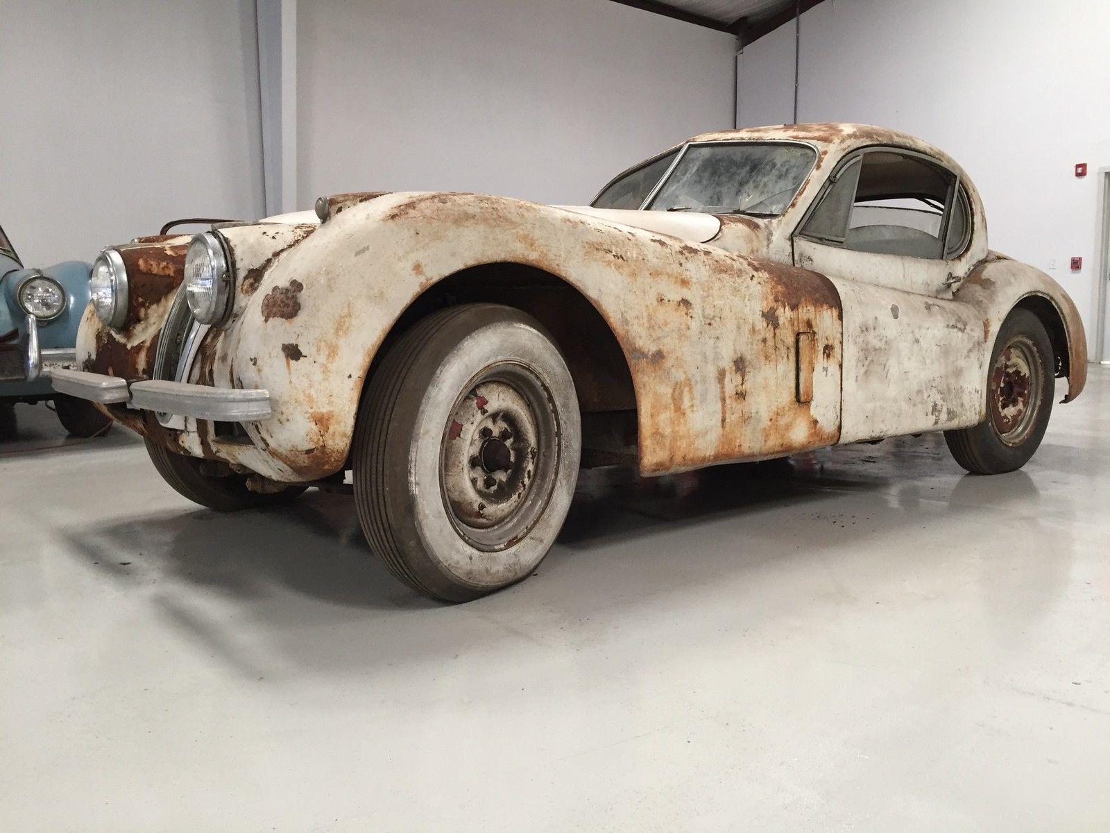 Classic British Jaguar Xk Restoration Project For Sale