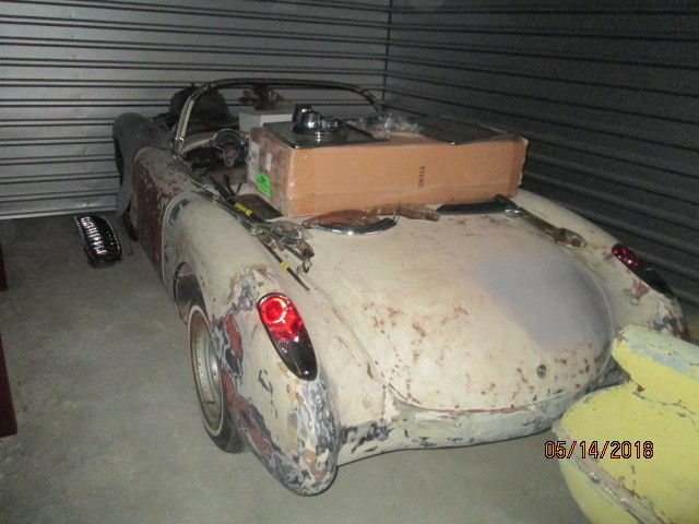 Dry southern car 1957 Chevrolet Corvette project
