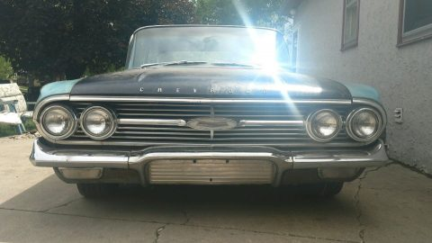 Fair condition 1960 Chevrolet Bel Air/150/210 project for sale