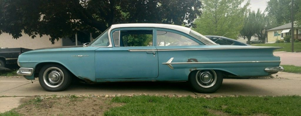 Fair Condition 1960 Chevrolet Bel Air 150 210 Project For Sale