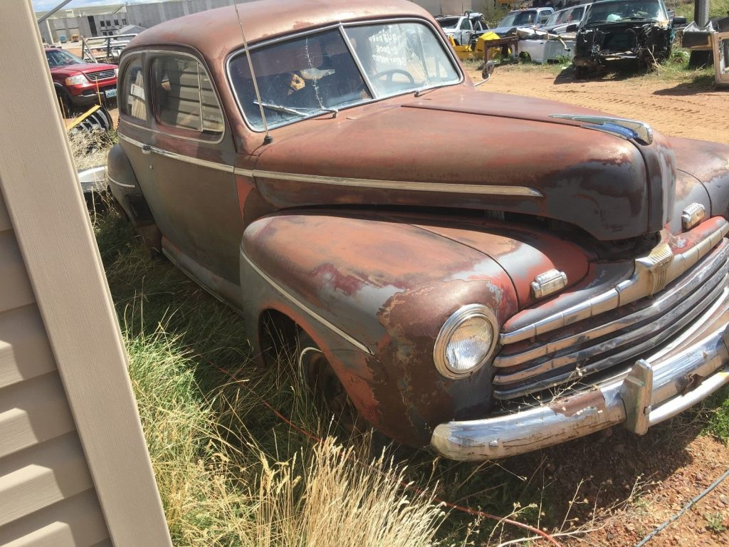 Flathead engine 1948 ford 2 door sedan project for sale for 1948 ford two door sedan